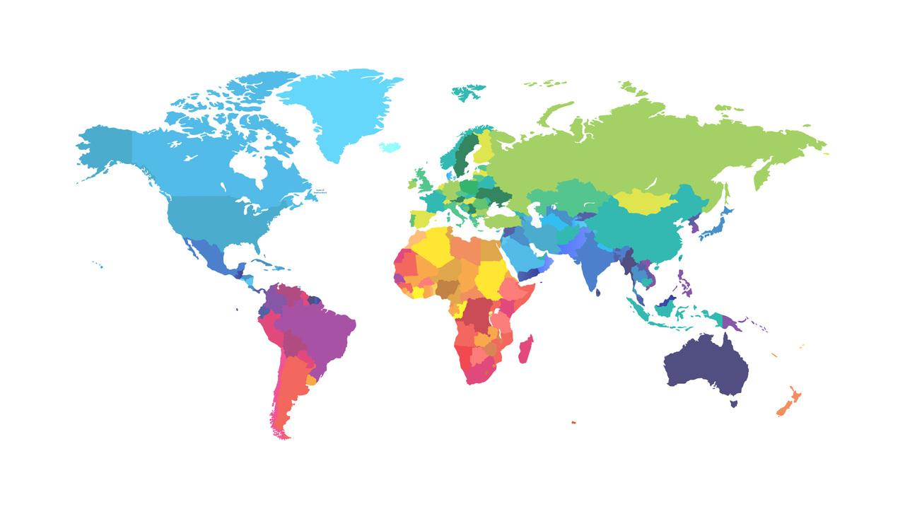 Topografiska Och Tematiska Kartor Geografi Geografins Metoder